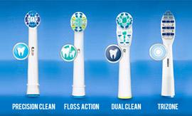 Electric Toothbrush Heads from Yazoom