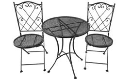 Metal Table and Chair Set from Groupy