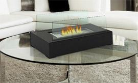 Tabletop Bio-Ethanol Fireplace from Groupy