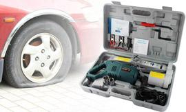 Electric Car Jack and Wrench Kit from Groupy