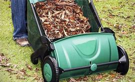 Easy-To-Push Manual Lawn Sweeper from Groupy