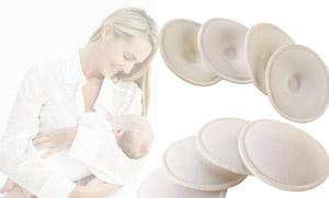 A 4pk of Reusable Nursing Pads from Yazoom