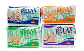 Bulk Box of 200 Relax Light Nappies from Yazoom