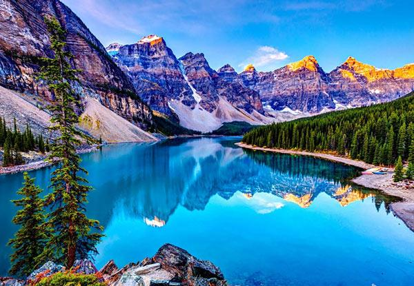 Per Person Twin Share for a Canadian Rockies & Alaskan 16-Day Cruise/Fly/Stay Adventure Package from Grab One