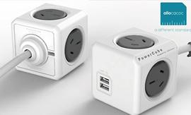 $24.9 PowerCube Multi-Outlet Power Adaptor from Groupy