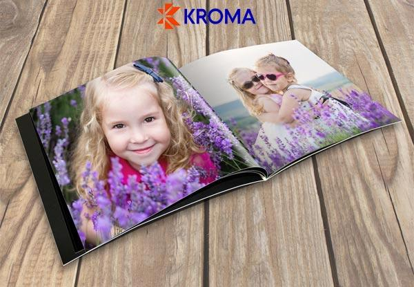 15x20cm Soft Cover Photo Book - Option for 20x20cm incl. Pick-up or Delivery from Grab One