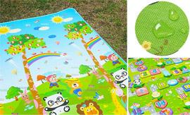 Large Double-Sided Padded Play Mat from Yazoom