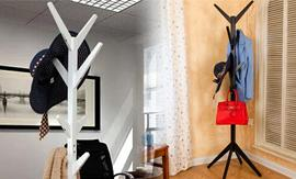 Wooden Coat Stand from Groupy