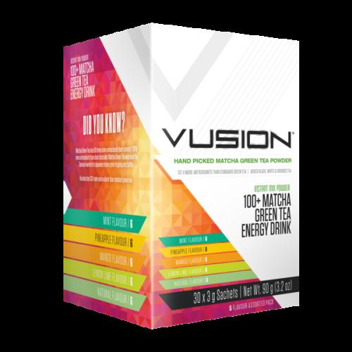Vusion 100+ Matcha Green Tea 30 Serve - Assorted from No Whey