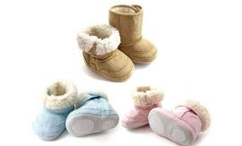 Pair of Baby Ugg Booties from Yazoom